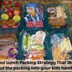 Back To School Lunch Box Check List