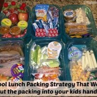School Lunch Packing Strategy That Works! Put the packing into your kids hands!