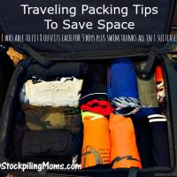 Traveling Packing Tips To Save Space