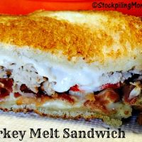 Turkey Melt Sandwich2