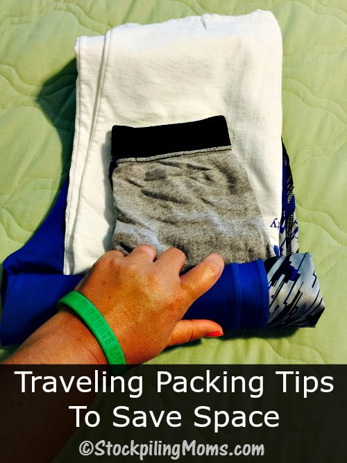 Traveling Packing Tips To Save Space for your family and yourself!