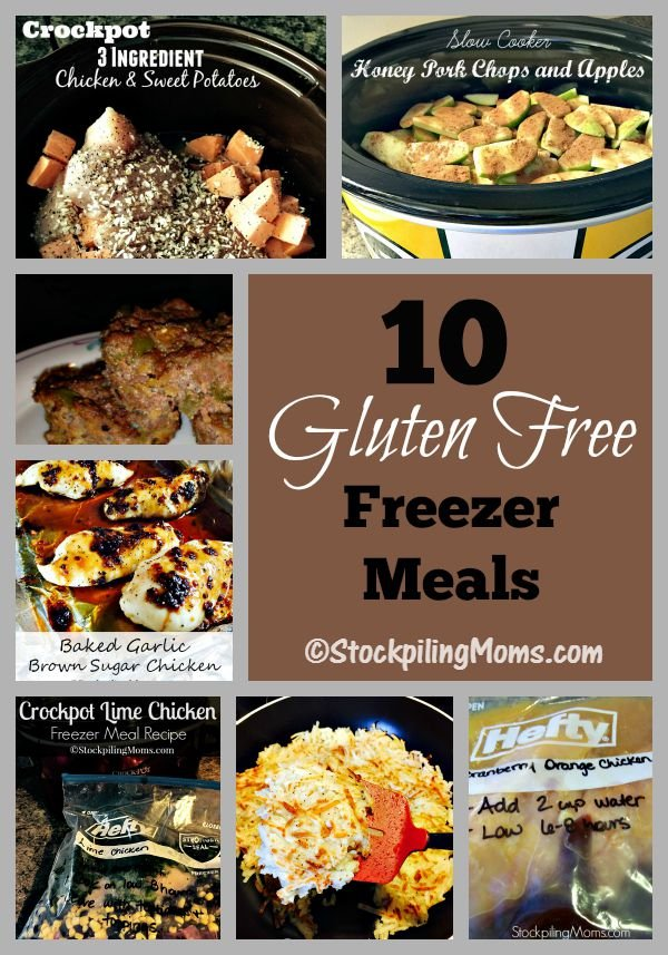 10 Gluten Free Freezer Meals that you can make in one afternoon for the whole week!