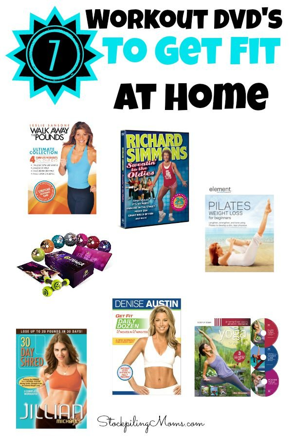 7 Workout DVDs To Get Fit At Home