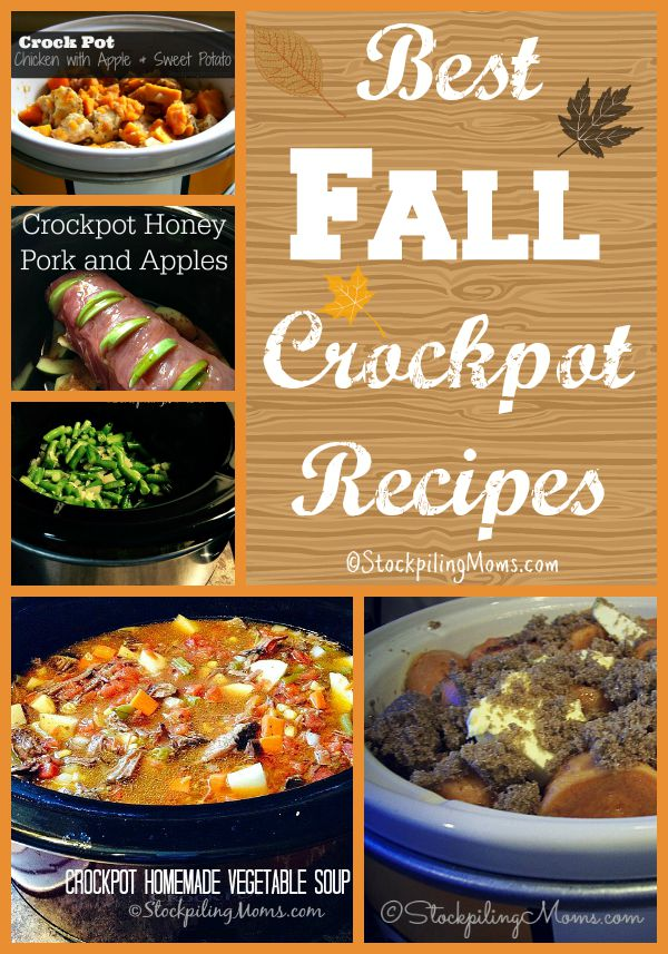 The Best Fall Crockpot Recipes to start making right now!