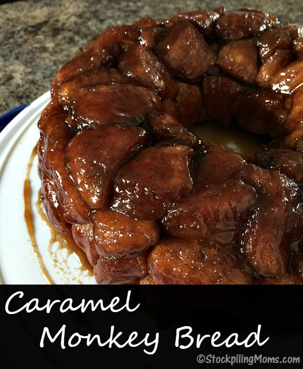Caramel Monkey Bread recipe is so delicious and you only need 5 ingredients!