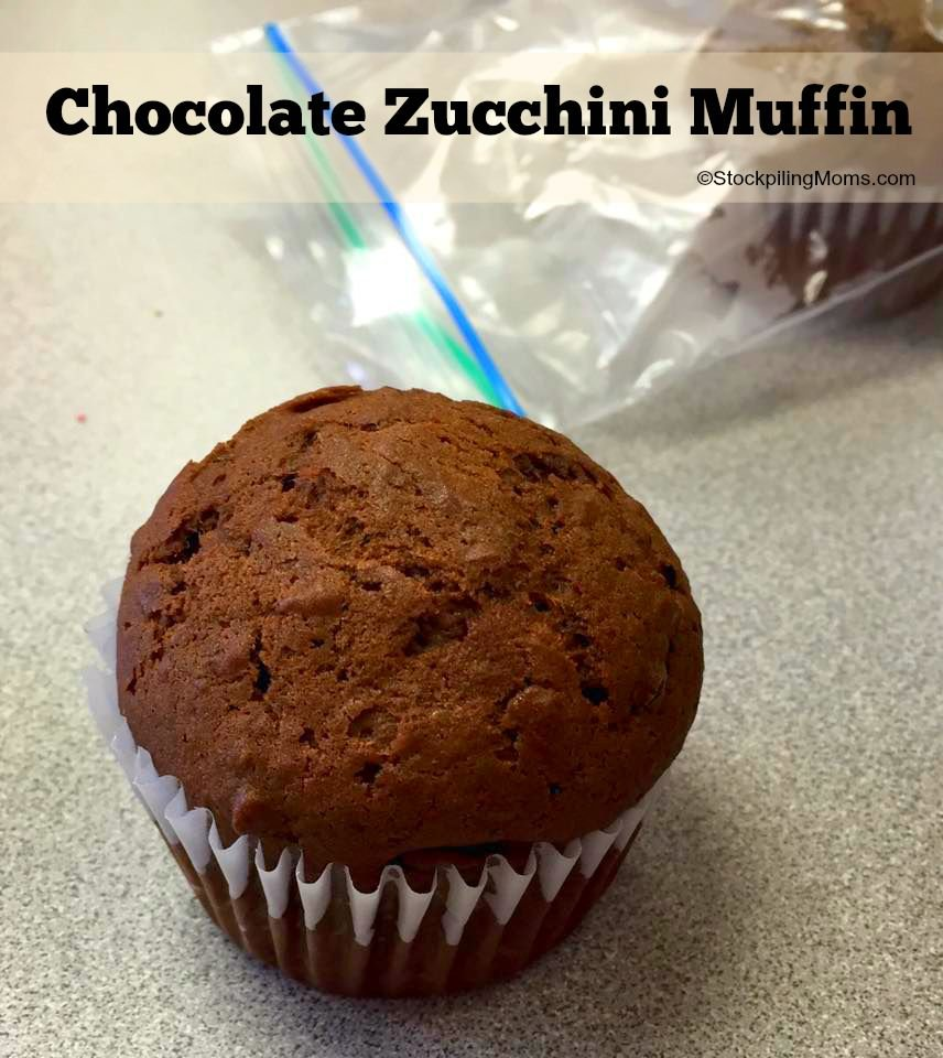 Chocolate Zucchini Muffins are so yummy AND a great way to sneak veggies into your kids diets!