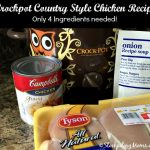 Crockpot Country Style Chicken Recipe