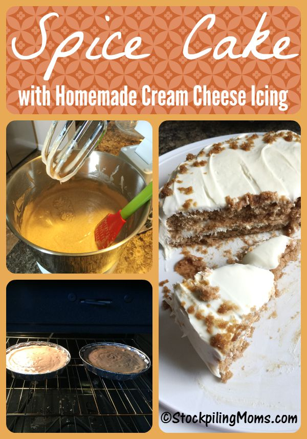 Spice Cake is the perfect dessert recipe for Fall!