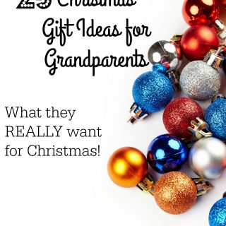 Christmas Gift Ideas for Grandparents