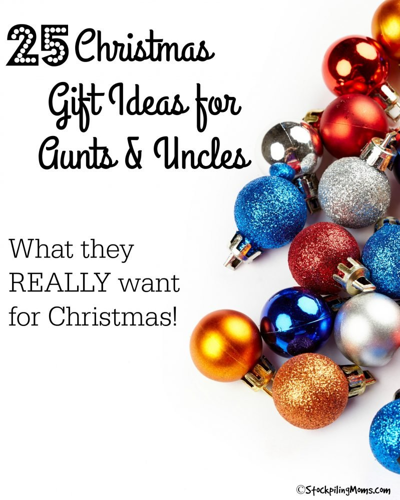 christmas gift ideas for aunts and uncles