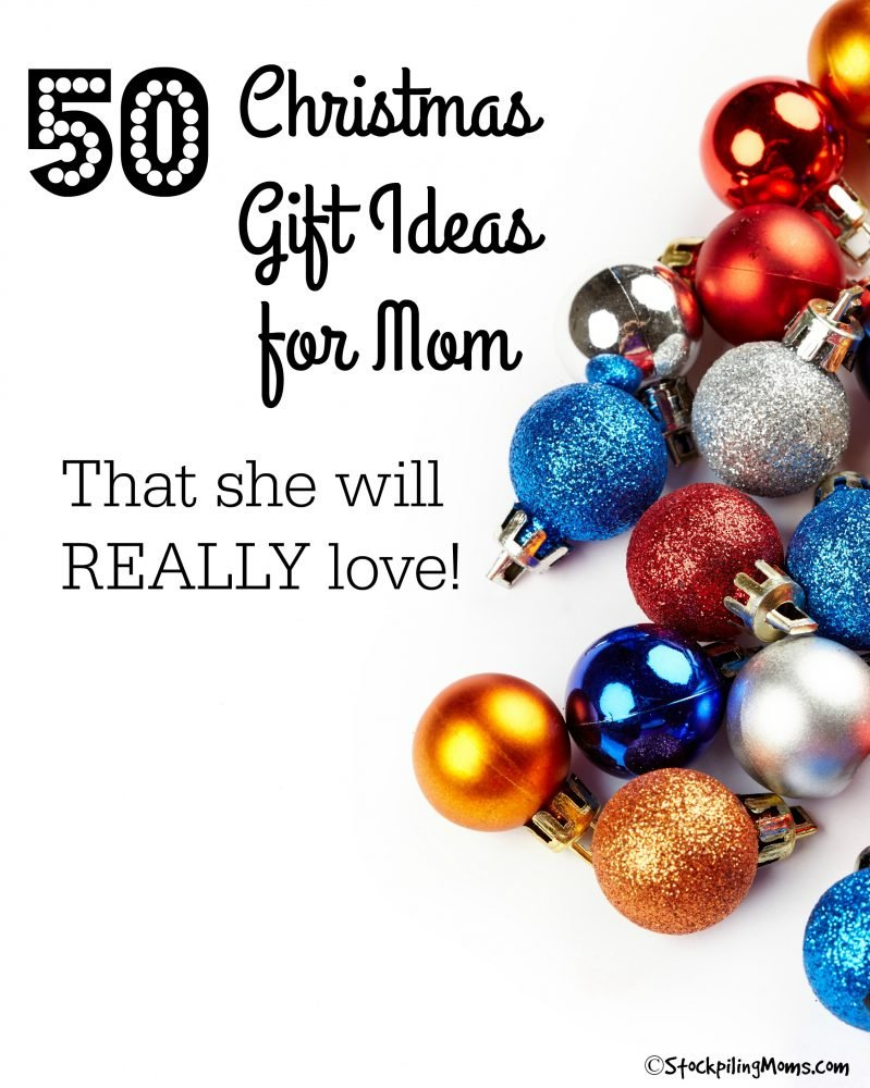50 Christmas Gift Ideas For Mom That She Will Really Love