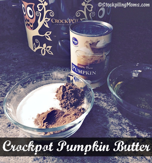 Crockpot Pumpkin Butter recipe is gluten free, healthy and taste great with only 5 ingredients!