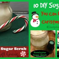10 DIY Sugar Scrubs You Can Make For Christmas Gifts