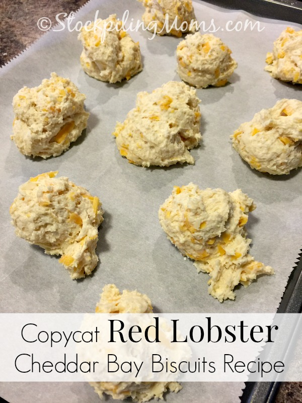 Copycat Red Lobster Cheddar Bay Biscuits Recipe tastes just like they are straight from the restaurant!