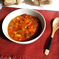 Roasted Vegetable Taco Soup