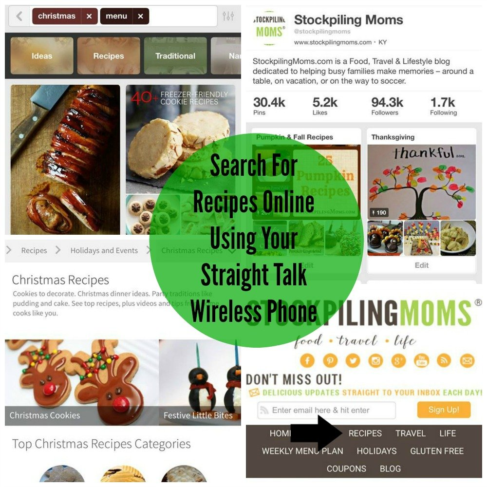 Search For Recipes Online