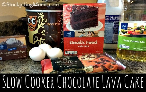 Slow Cooker Chocolate Lava Cake recipe is hands down the BEST crockpot dessert ever!