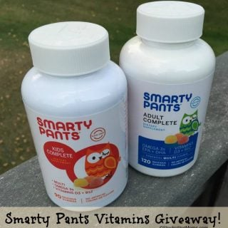 SmartyPants Vitamins Giveaway – CLOSED