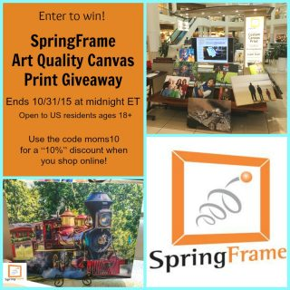 SpringFrame Canvas Print Giveaway – CLOSED