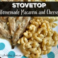 Stovetop Homemade Macaroni and Cheese