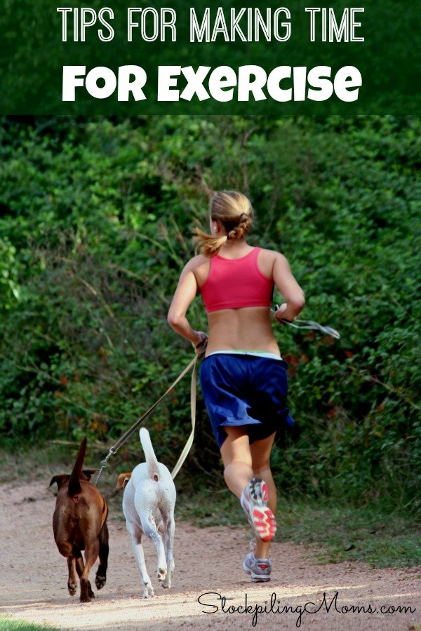 Tips For Making Time For Exercise