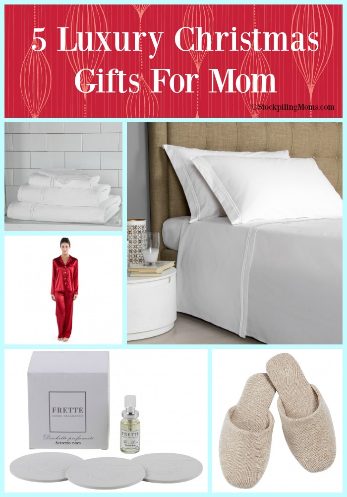 5 luxury christmas gifts for mom