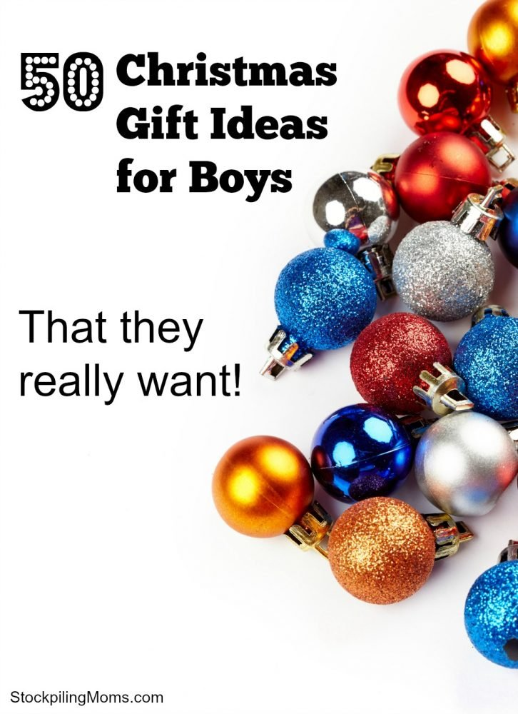50 Christmas Gift Ideas For Boys