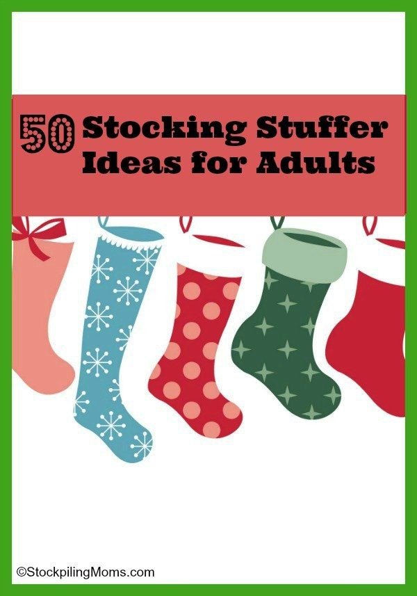50 Stocking Stuffer Ideas for Adults