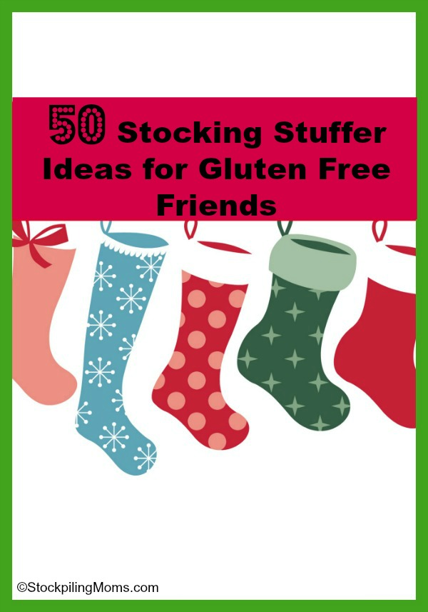 50 Stocking Stuffer Ideas for Gluten Free Friends