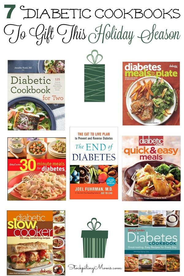 7 diabetic cookbooks to gift this holiday season forumfinder Choice Image