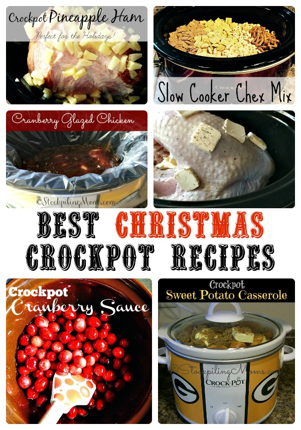 Best Christmas Crockpot Recipes to make this season!