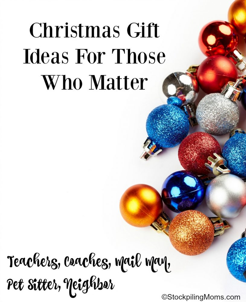Christmas Gift Ideas For Those Who Matter