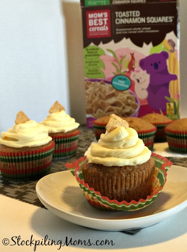 Cinnamon Crunch Cupcakes are delicious and kids love them! Seriously the BEST cupcake ever!