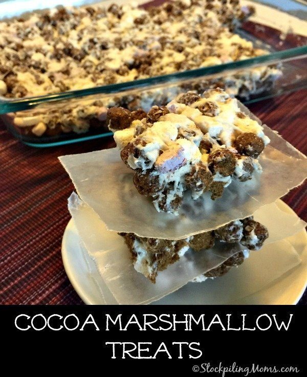 Cocoa Marshmallow Treats