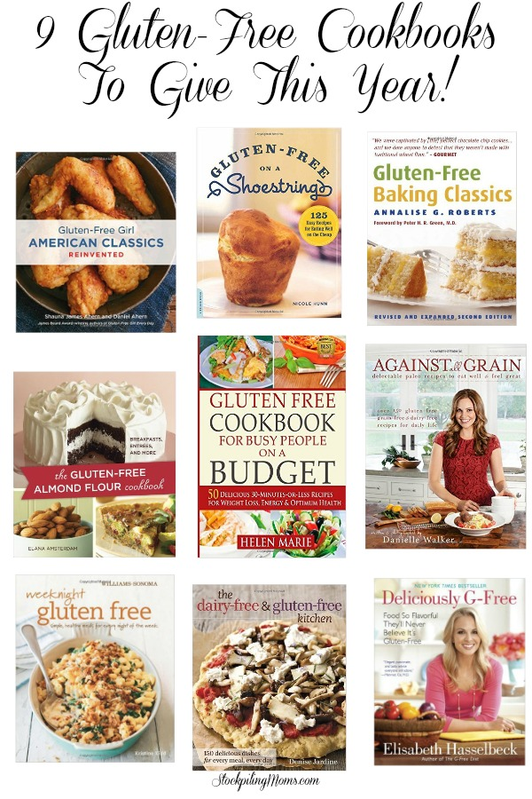 Gluten Free Cookbooks To Give This Year