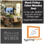 SpringFrame Canvas Prints Black Friday/Cyber Monday Deals 2015