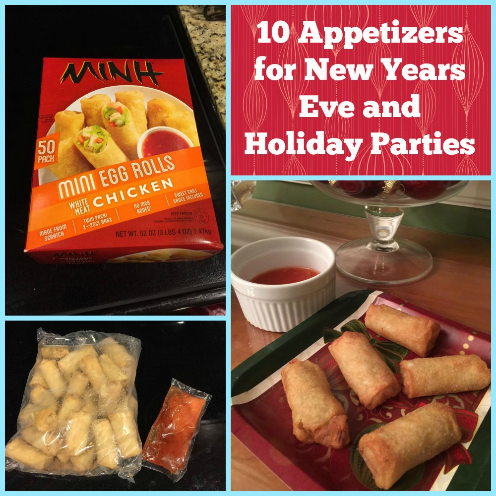 10 Appetizers for New Years Eve and Holiday Parties