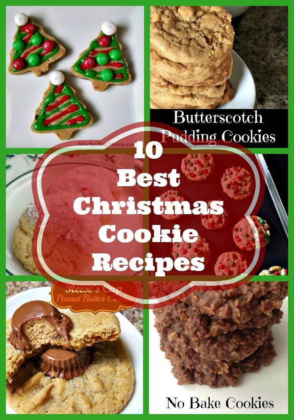 Here are our 10 Best Christmas Cookie Recipes to make this holiday baking season!