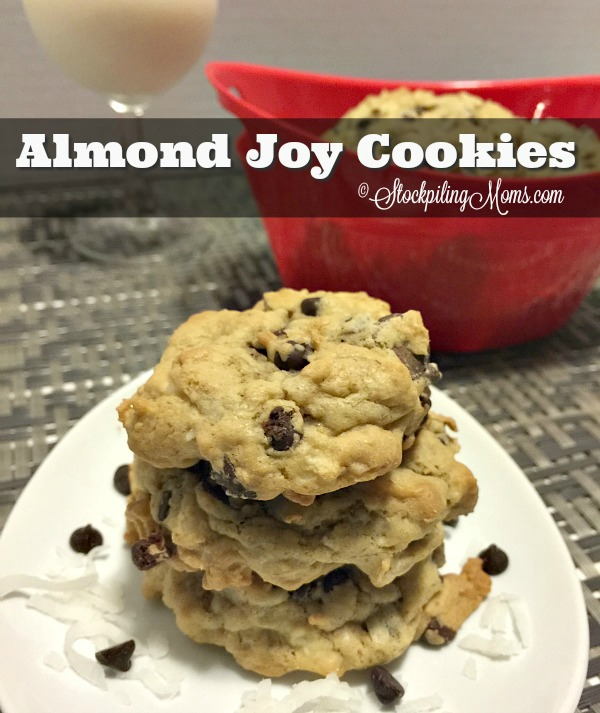 Almond Joy Cookies recipe is a must try during this holiday baking season!