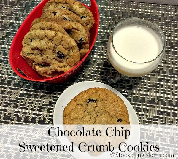 Chocolate Chip Sweetened Crumb Cookies recipe is a must bake cookie this holiday!