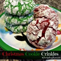 Christmas Cookie Crinkles