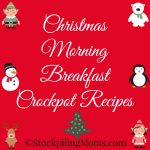 Christmas Morning Breakfast Crockpot Recipes