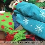Christmas Sock Exchange Party