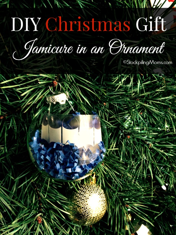 DIY Christmas Gift - Jamicure in an Ornament