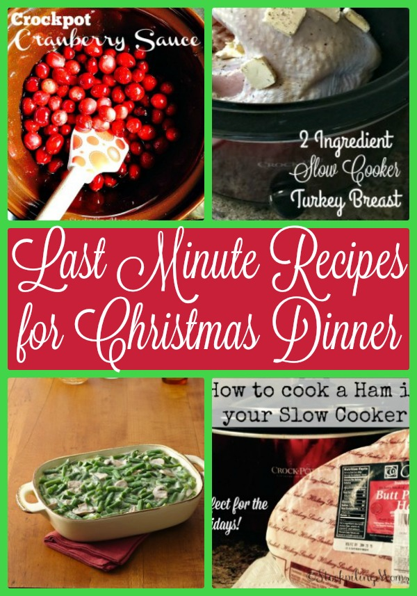 15 last minute recipes for christmas dinner forumfinder Image collections