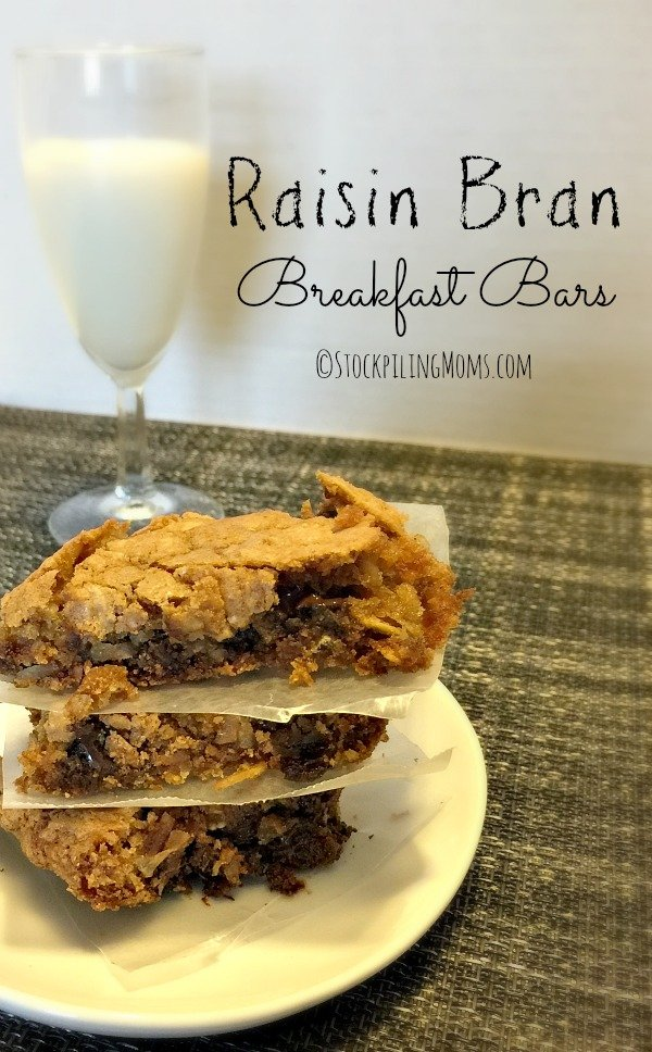 Raisin Bran Breakfast Bars4