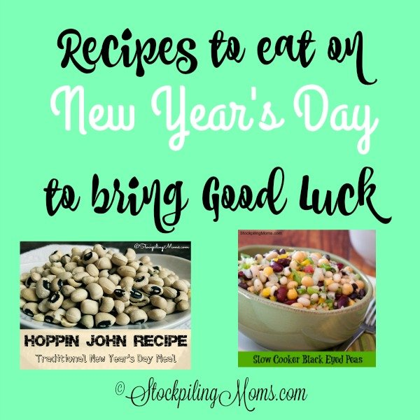 Recipes To Eat On New Year S Day To Bring Good Luck Stockpiling
