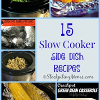 15 Slow Cooker Side Dish Recipes
