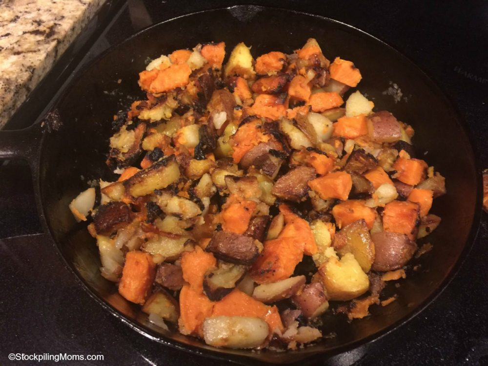 Best Potato Hash Recipe Ever! Seriously. It is perfect when carb cycling.