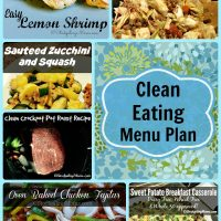 Clean Eating Menu Plan